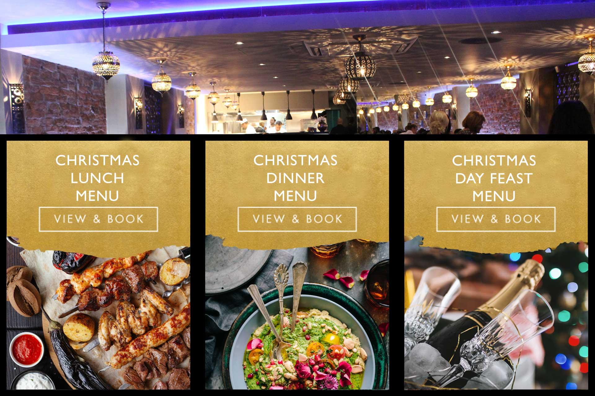 Christmas Dinner Restaurants Near Me 2019.Baroushka The Middle Eastern Restaurant In Salisbury